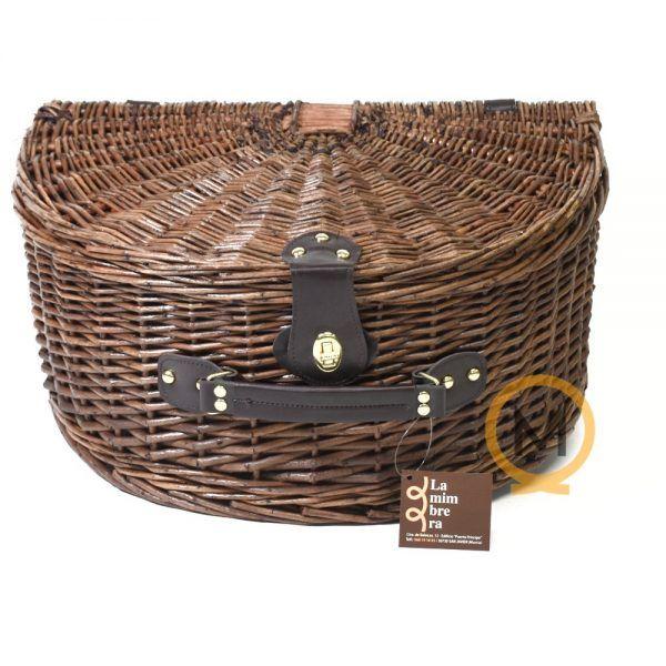 cesta picnic semiluna mimbre rustico