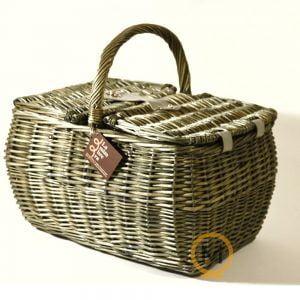 cesta tradicional de picnic para 2 personas