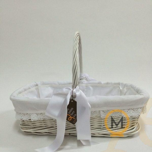 cesta prenatal mimbre blanco