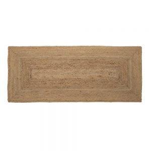 alfombra rectangular yute