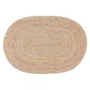 alfombra yute ovalada 120x180